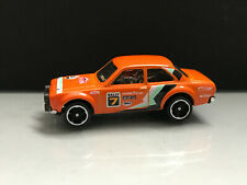 2019 Toy cars 1:64 > '70 FORD ESCORT RS1600 HW ,Orange Unspun Loose opened