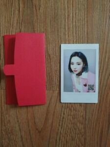 ITZY Official Real Polaroid