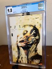 WYTCHES #1 (Image) CGC 9.8 NM/M  White Pages Ghost Variant Scott Snyder RARE!!