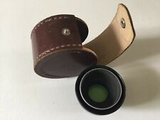 Leather Lens Case With Photax Retina11 Filter