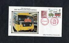Benham Cover - 150 Aniversario De Los Viajes Oficina de correos de tren. enero de 1988.
