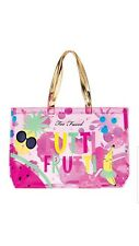 BNWT Too Faced Tutti Frutti Collection Beach Tote Bag