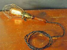 Vintage Industrial Trouble Light - Cage Lamp Pendant Bulb