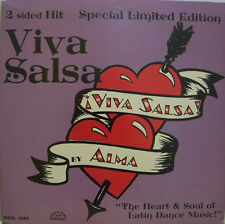 "ALMA ~ Viva Salsa ~ LTD ED 12"" Single PS ~ USA PRESSING"