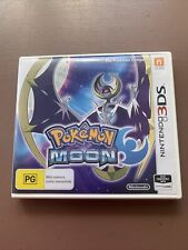 Pokemon Moon (3DS / 2DS) Game With Case. Good Condition Free Postage