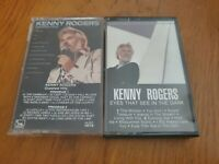 lot of 2 Kenny Rogers cassettes - greatest hits/eyes that see in the dark