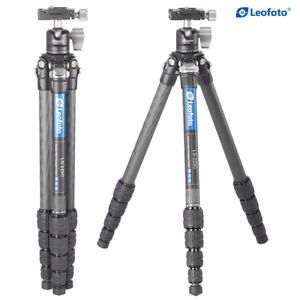 Leofoto LS-225C Camera Tripod with Ball Head Professional Carbon Fibre with Case