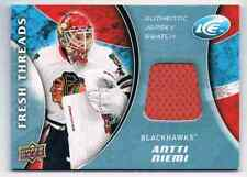 2009-10 ICE FRESH THREADS ANTTI NIEMI JERSEY 1 COLOR CS CHICAGO BLACKHAWKS