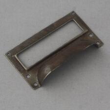Petit Industriel Armoire poignée et porte-étiquette