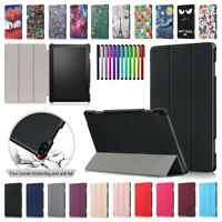 "For Lenovo Tab 5 Plus / P10 TB-X705F 10.1"" Slim Fold PU Leather Case Stand Cover"