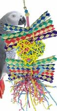 Bonka Bird Toys Duo Foraging Heart Star Shred Toy Parrot Cage Cockatiel African