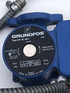 Grundfos UP15-42F Circulator Pump Black