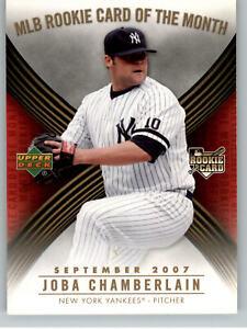 2007 Upper Deck MLB Rookie Card of the Month #ROM-6 Joba Chamberlain - Yankees