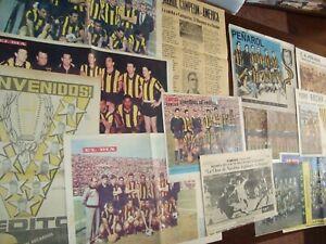 Soccer Football Uruguay Peñarol Club 18 poster original 1960ies Press World cup