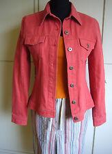 H&M Hennes Jeansjacke in Korallen Rot Gr.36* w.Neu