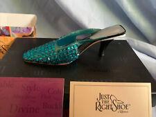 Just The Right Shoe by Raine 2002 Midori Blue Green 25108 Willitts Nib