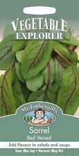 Mr Fothergills - Pictorial Packet - Herb - Sorrel Red Veined - 100 Seeds