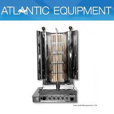 Kebab Machine Semi-Automatic Kebab Machine LPG Gas 5 Burnner- KMB5ELPG