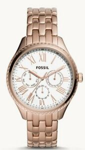 Fossil Ladies Watch BQ3576 RRP£149 With Tin & Booklet New with Tags