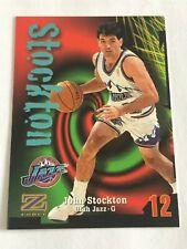 Card John Stockton Skybox Z FORCE #12