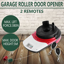 Automatic Remote Control Garage Door Opener Motor Rolling Easy Operation 24 V DC