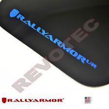 Rally Armor Mud Flaps 2013-2014 Ford Focus Hatchback Black w Blue Logo