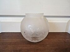 Traditional Vintage Frosted Glass Globe Replacement Lamp / Light Shade