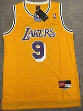 Nick Van Exel Throwback Los Angeles Lakers Jersey Size Large