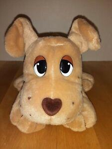 "Mattel Vintage Brown Tan 8"" Pound Puppies Plush Toy"