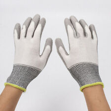 Anti Work Pu Rubber Cut Resistance Safety Protective Gloves Upgrade Encrypted