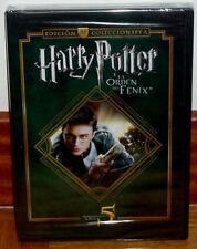HARRY POTTER Y LA ORDEN DEL FENIX ED.COLECCIONISTA 2 DVD NUEVO PRECINTADO R2