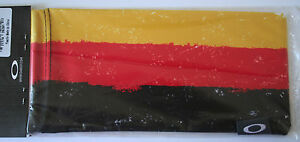 OAKLEY MICRO-FIBER SUNGLASSES BAG...GERMANY FLAG