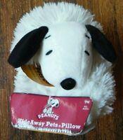 Peanuts Snoopy Plush Stuffed Animal Toy Hide Away Pets ASOTV 2014