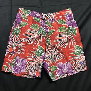 Tommy Bahama Mens Swim Floral Trunks Board Shorts Size XL