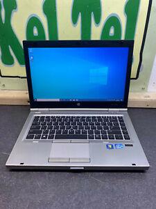 "HP EliteBook 8470P 14"" Core i5-3360M 2.8GHz 4GB 240GB SSD WINDOWS 10 LAPTOP UK"