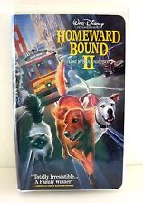 Homeward Bound 2 - Lost in San Francisco VHS, 1996 Clamshell Video Movie Disney
