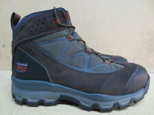 """Mens 6"""" Timberland Brown Steel Toe Hiker Work Boot Size 10 #A11MN"""