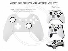Brand New Xbox One Elite White black rings Controller Soft Front Shell Unique