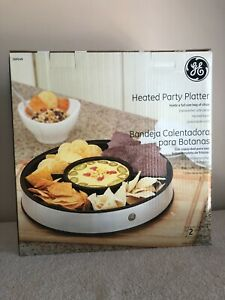 Heated Party Platter by GE    NEW & NEVER Out of the BOX!!!