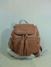 NWT Tory Burch Tramonto Quilted Leather Mini Fleming Backpack $398