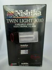 Nishika Twin Light 3010 Variable-Angle Electronic Flash