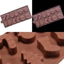 Arbre Noël Silicone Moule Gâteau Chocolat Bonbon Glace Biscuit Savon Cuisine NF