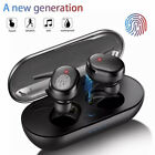 TWS Wireless Headphones Bluetooth Earphones Touch Control Sports Earbuds Microph