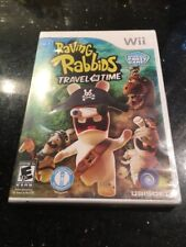 Raving Rabbids: Travel in Time (Nintendo Wii, 2010) Brand New Factory Sealed