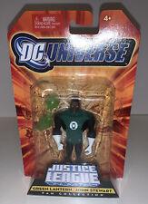 JUSTICE LEAGUE UNLIMITED Green Lantern JOHN STEWART Action Figure W/ Mace 2008