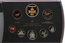 2006 Canada Proof Set with Gold Plated Victoria Cross $1 - Mint in Original Box