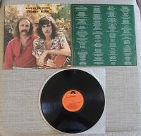 DAVID CROSBY & GRAHAM NASH-WIND ON THE WATER-UK LP ON POLYDOR RECORDS-1975-EX