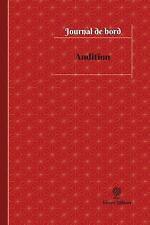 Journal/Carnet de Bord: Audition Journal de Bord : Registre, 100 Pages, 15,24...