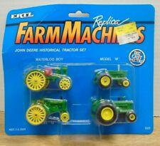 Farm Machines John Deere Historical Tractor Set 1/64 Diecast ERTL 071819DBT2