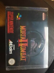 Mortal Kombat 2 (Super Nintendo) Snes PAL Boxed Complete